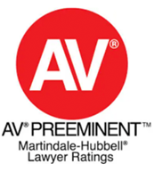 AV Preeminent Martindale-Hubbell Lawyer Ratings